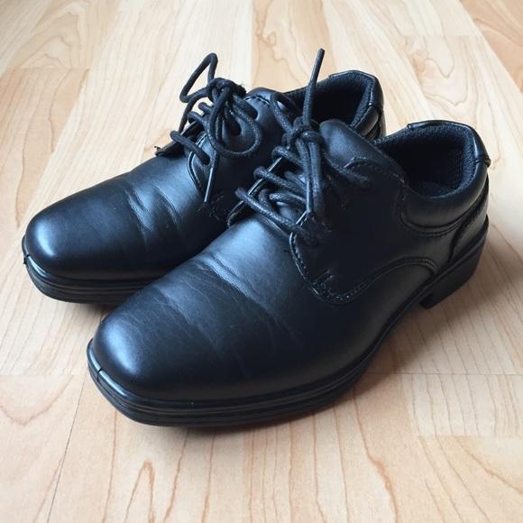 31ba4446dbe35 Stafford Shoes | Toddler Boys Black Dress Euc | Poshmark